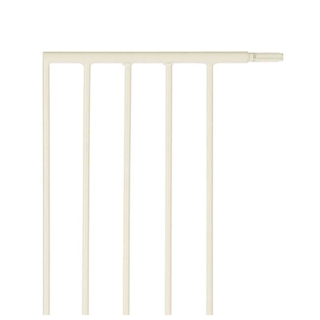 "4975 North States Supergate Portico Arch Safety Gate 13.4"" Extension, Linen(Open Box) 1"