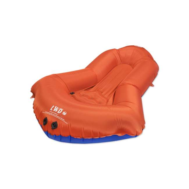 14LDBl01C Klymit 14LDBl01C LiteWater Dinghy Packraft for Kayakers and Packrafters, Orange