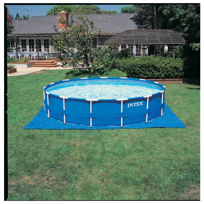 "28241EH-U-A Intex 15' x 48"" Above Ground Pool Set w/ Pump Cover&Ladder(Open Box) (2 Pack) 3"
