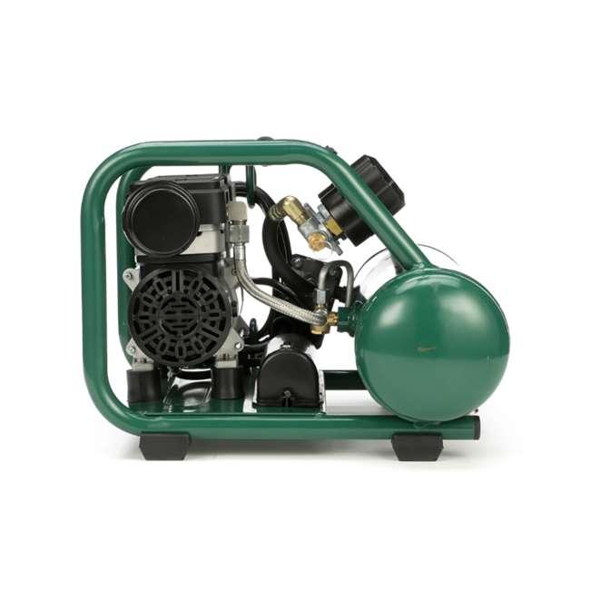 AB5PLUS Rolair AB5PLUS 1 Gallon 0.5HP 90 PSI Quiet Portable Pump Electric Air Compressor 4