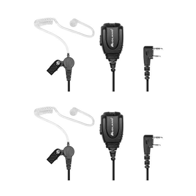 BA3 Midland Radios Biztalk BA3 Concealed Headset (2 Pack)