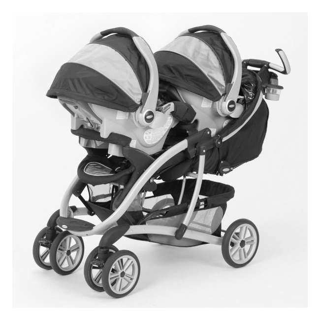 Graco Quattro Tour Duo Stroller Snugride 35 Twin Travel System Vance