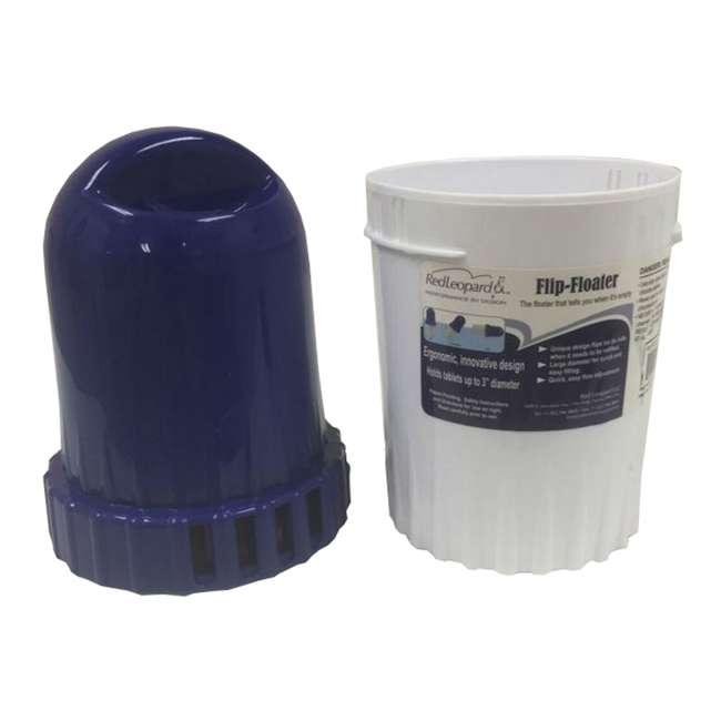 Swimming Pool Chlorine Bromine Flip Floater Chemical Tablet Dispenser F10007 Rl F10007