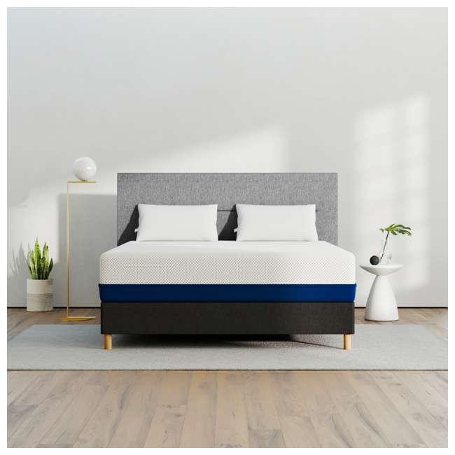 AS4-Q Amerisleep AS4 Medium Softness Bio Core HIVE Foam Queen Size Mattress, White