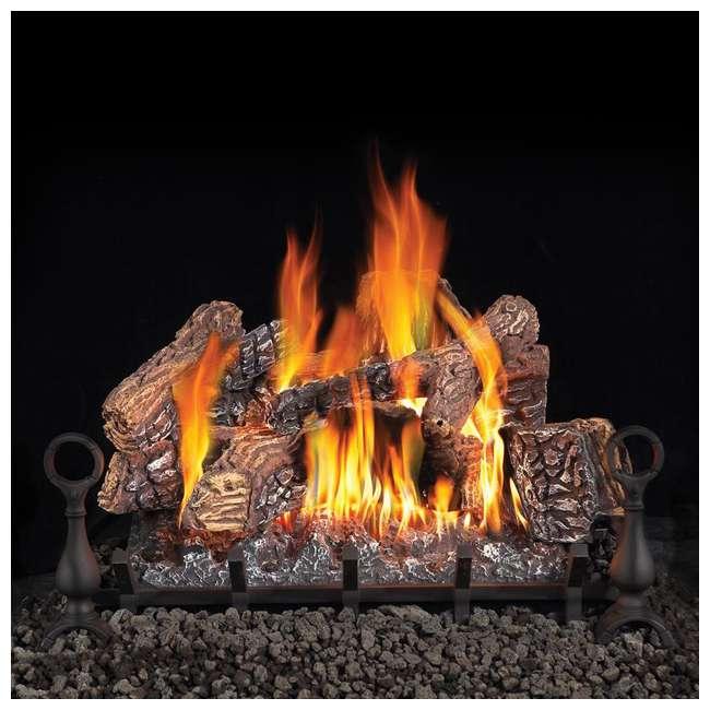 GL30NE Fiberglow 30-Inch Vented Logs for Gas Fireplace 1