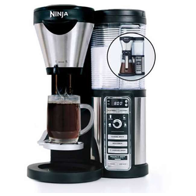 CF080A_EGB-RB Ninja Coffee Bar with Glass Carafe and Filter Basket (Certified Refurbished)