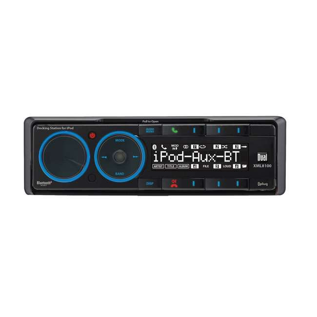 XML8110 Dual XML8110 In-Dash Radio Receiver with iPod/iPhone Docking Station