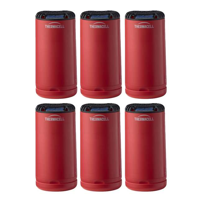 6 x MRPSR Thermacell Patio Yard & Camping Shield Mosquito Repeller (6 Pack)