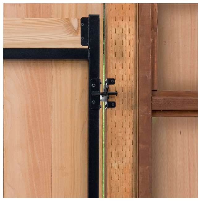 """5 x AG36-3 Adjust-A-Gate Steel Frame Gate Kit, 36""""-60"""" Wide Opening Up To 7' High (5 Pack) 5"""