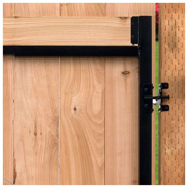"AG60-36-U-A Adjust-A-Gate Gate Building Kit, 60-96"" Wide Up To 4' High(Open Box) (2 Pack) 3"