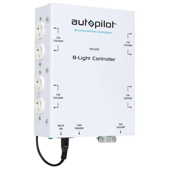 8 x APCL8DX AutoPilot 8000W High Power HID Master Lighting Controller (8 Pack) 2