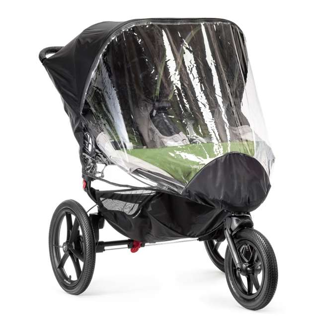 BJ91952 Baby Jogger Summit X3 Double Weather Shield, Clear