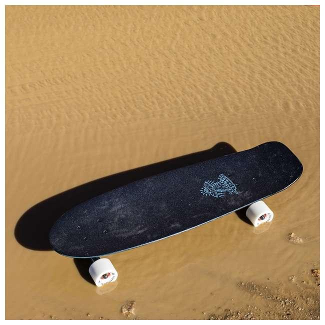 BIMINI Aluminati Pre-Gripped Lightweight Bimini Jerry Cruiser Skateboard with Wheels 2