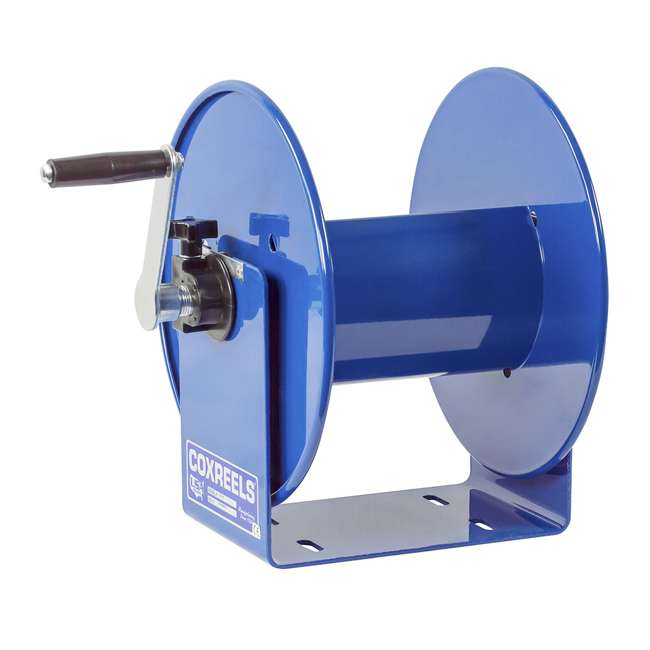 112Y-12 Coxreels Hand-Crank Steel Electrical Cord Storage Reel 7