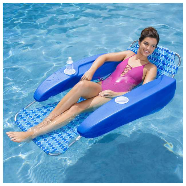 6042433-SW SwimWays Newporter Sling-Style Lounge with 2 Positions 2