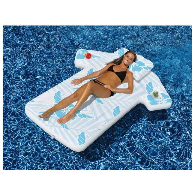 90604-U-A Swimline 90604 Inflatable Swimming Pool Hawaiian Shirt Float Lounger (Open Box)