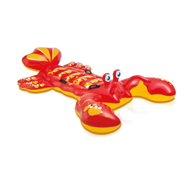 57528EP Intex Giant Lobster Ride-On Pool Raft