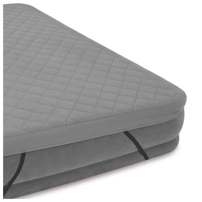 69643E Intex Queen Quilted Airbed Cover (Cover Only) 2