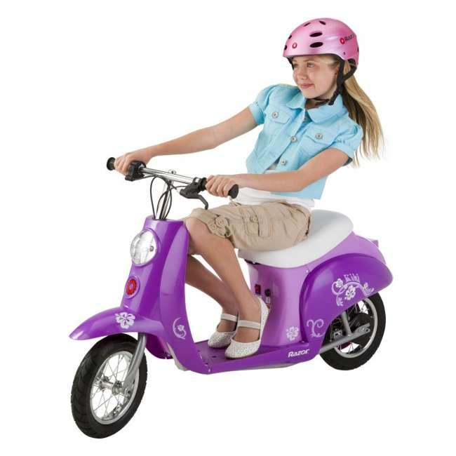 Razor Pocket Mod Kiki Electric Scooter Purple 15130634