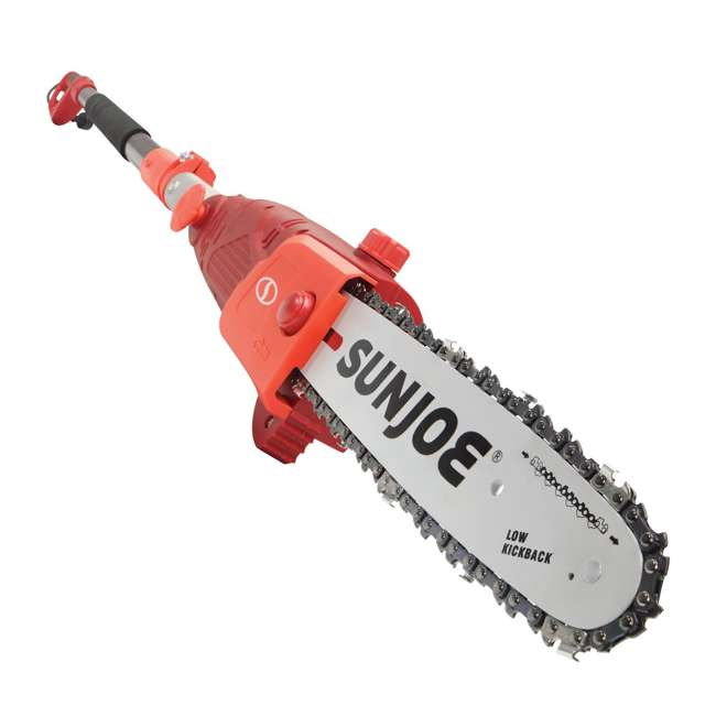 SUJ-SWJ803E-RED-RB Sun Joe Electric 10-Inch Pole Saw, Red (Certified Refurbished) 2