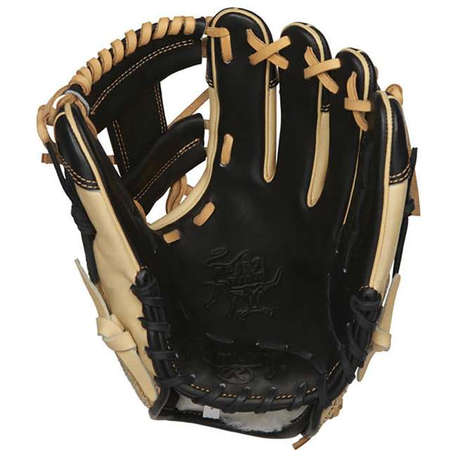 "PRO204-2BCC-OB Rawlings Pro Label 11.5"" Adult Right Hand Infield Baseball Glove (Open Box) 1"