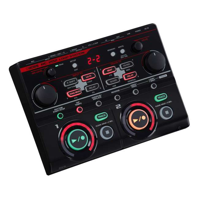 RC-202 Boss RC-202 Tabletop 4-Input 4-Track FX Loop Station (2 Pack) 2