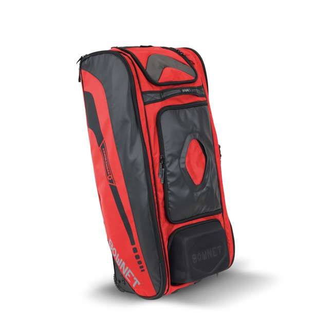 BN-COMMANDER BAG S Bownet The Commander Baseball Softball Catcher's Bag, Red