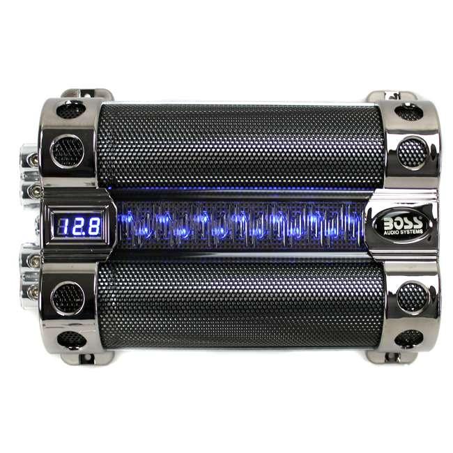 CAP18 BOSS CAP18 18 FARAD Digital Car Audio Capacitor 1