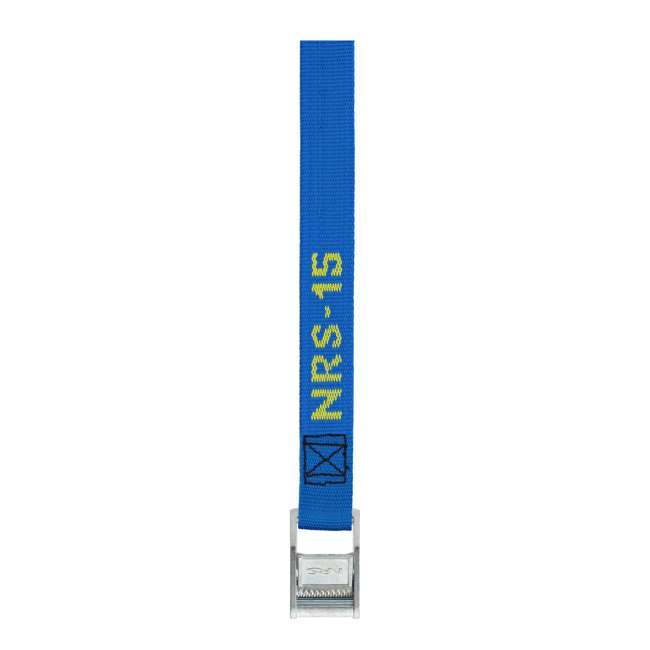 NRS_60001_01_107 NRS 1-Inch Long Heavy Duty Tie Down Strap, Blue (15 Feet) (2 Pack) 1