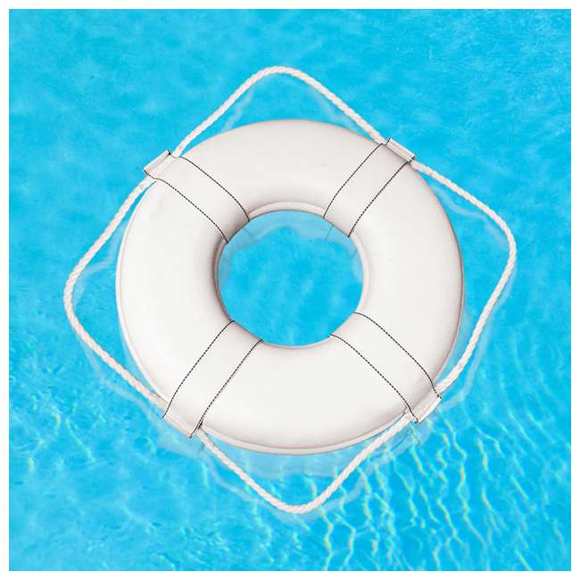 55550 Poolmaster 55550 US-Coast-Guard-Approved Ring Buoy (2 Pack) 3