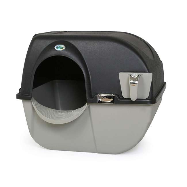 EL-RA20-1 Omega Paw Roll N Clean Self Cleaning Litter Box, Large