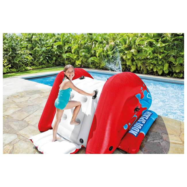 58849VM-U-A Intex Kool Splash Inflatable Water Slide Center w/ Sprayer Red (Open Box)(2 Pack) 2