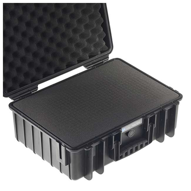 5000/B/SI B&W International 5000/B/SI Hard Plastic Outdoor Case with Removable SI Insert 3