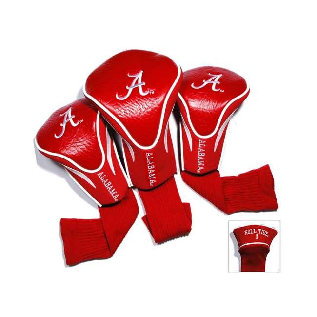 20194 Team Golf 20194 NCAA Alabama Football Contour Golf Club Sock HeadCovers, 3 Pack 1