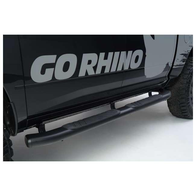 67427T Go Rhino 67427T 415 Series Cab Length Toyota Trail, TRD, & SR5 Side Step, Pair 6
