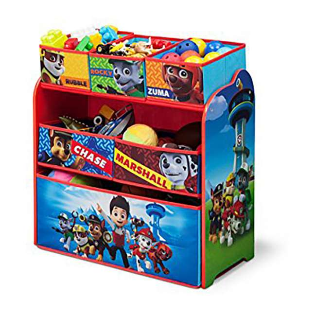 Paw Patrol Kids Toy Organizer Bin Children S Storage Box: Delta Children Nick Jr. Paw Patrol Multi Wood Storage Toy