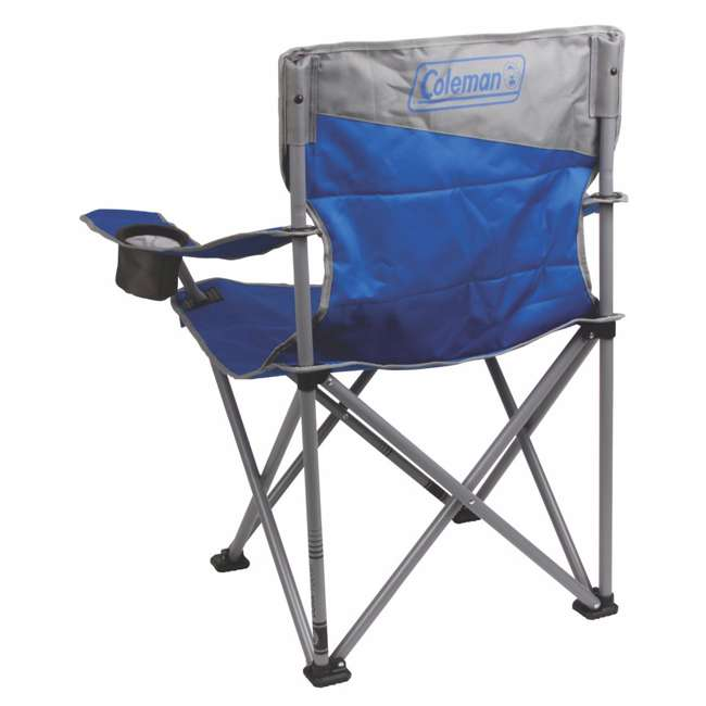 2000026491 Coleman Big-N-Tall Oversized Quad Chair, Blue 1