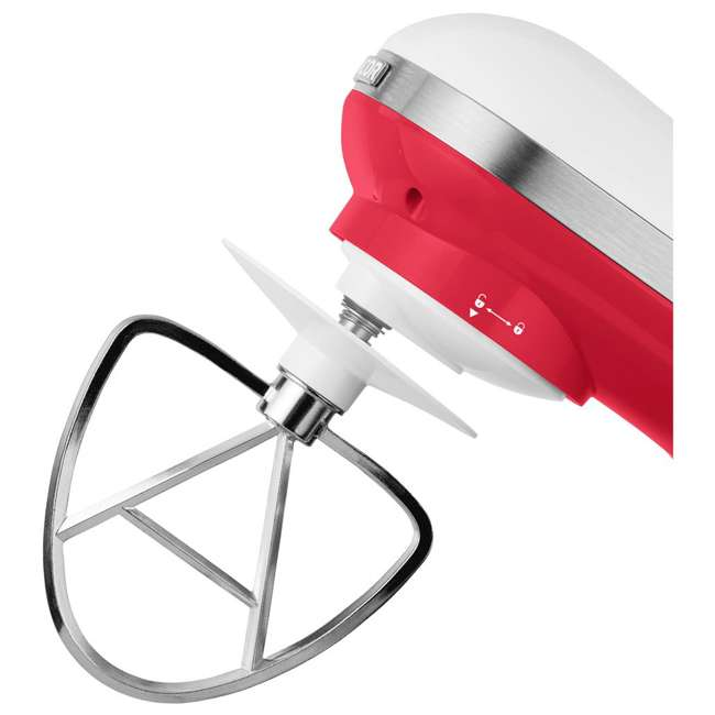 STM3624RD-NAA1 Sencor STM 3624RD 4.2 Quart 6 Speed Food Mixer with Stainless Steel Bowl, Red 5