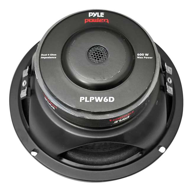 12 x PLPW6D Pyle PLPW6D 6-Inch 600 Watt Car Audio Subwoofer (12 Pack) 1