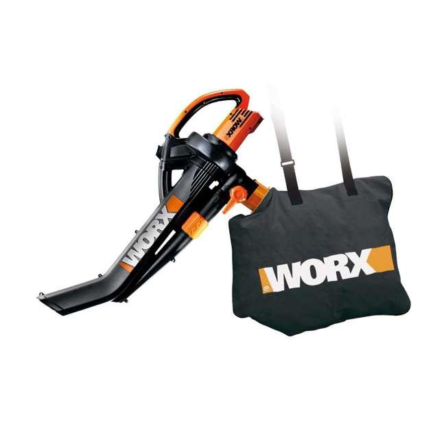 Worx Electric Trivac Blower Mulcher Vacuum Wg509