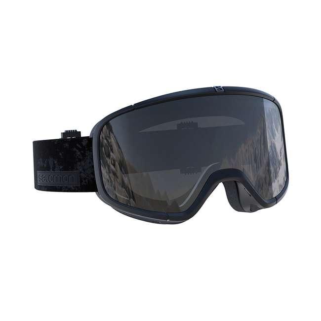 L39900900-U-B Salomon Four Seven Universal Mid Black Ski Snowboard Goggles Snow Gear (Used)