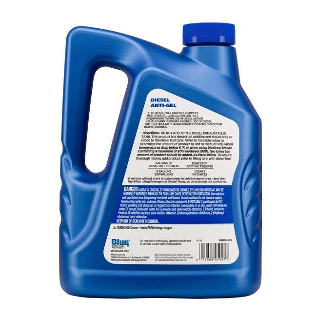 BDDAG64 PEAK Blue 64 Ounce Anti-Gel Diesel Fuel Additive for Cold Weather Performance 1