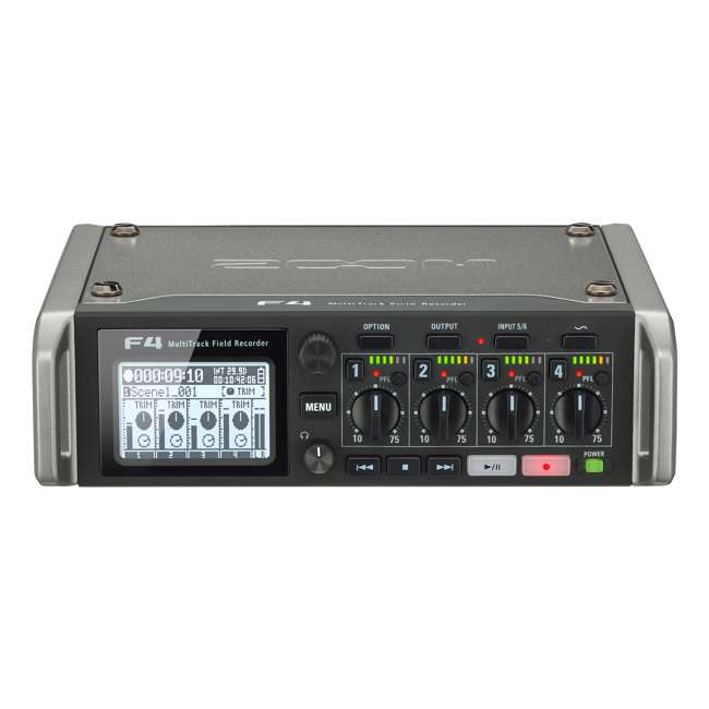 ZF4-OB Zoom F4 Professional MultiTrack Field Recorder