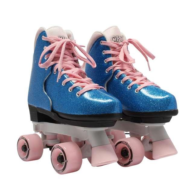 168218 Circle Society Bling Bubble Gum Kids Skates, Sizes 3 to 7