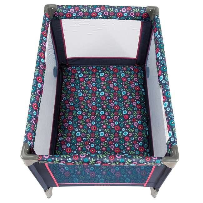 PY363DWD Cosco Funsport Portable Baby Play Yard, Flower Garden (2 Pack) 2