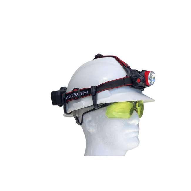 MXN00630 Maxxeon 630 WorkStar Technician's Micro USB Rechargeable LED Work Headlamp, Red 5