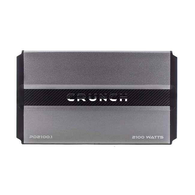 PD2100.1 Crunch Power Drive PD2100.1 2100W Monoblock Class A/B Amplifier (2 Pack) 2