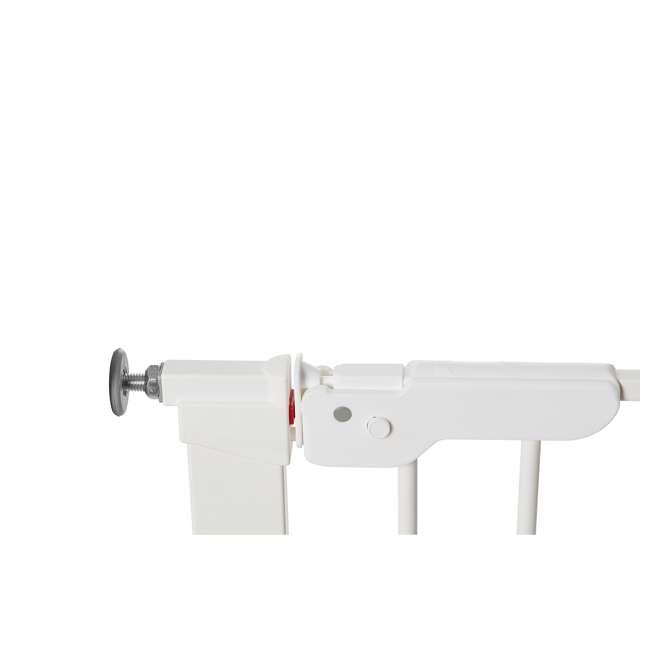 """BBD-60114-5492 + BBD-58014-5400 BabyDan Premier 28.9-36.7 Inch Baby Gate & Extend A 2 x 2.6"""" Gate Kit, White 4"""