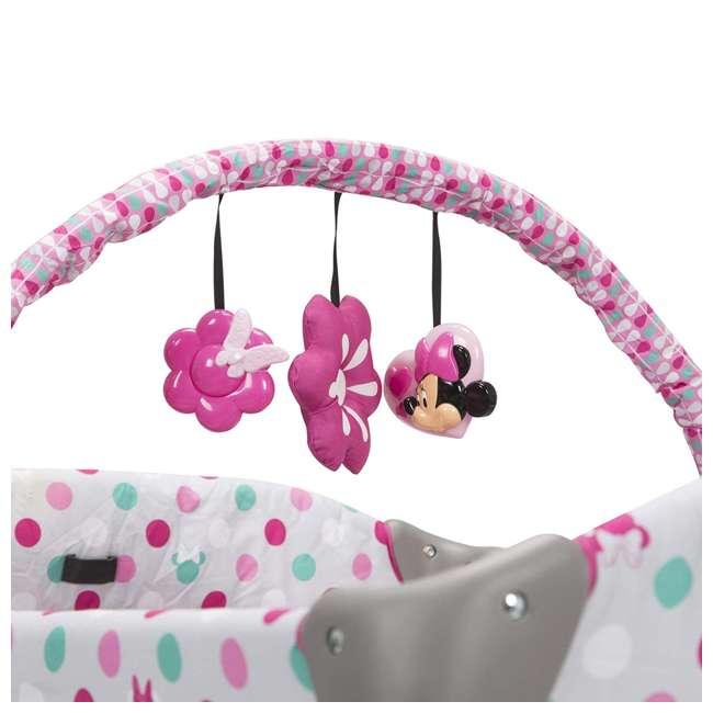 PY373EGF Disney Baby PY373EGF Sweet Wonder Play Yard with Bassinet, Storage, Minnie Dot 1