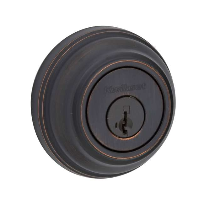 6 x 99850-057-U-A Kwikset 985 Series Double Cylinder Deadbolt, Venetian Bronze (Open Box) (6 Pack)